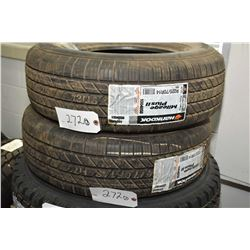 Pair of brand new Hankook Mileage Plus II tires, P225/70R14- AUCTION HOUSE WILL NOT PROVIDE SHIPPING