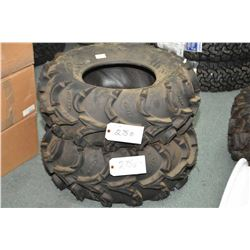 Pair of brand new ITP Mudlite ATV tires, 27 X 10-12- AUCTION HOUSE WILL NOT PROVIDE SHIPPING FOR THI