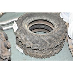 Pair of brand new Dunlop KT181 ATV tires, AT25 X 8-12- AUCTION HOUSE WILL NOT PROVIDE SHIPPING FOR T