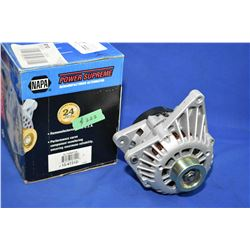 New Napa inventory alternator #213-4731D (retails $222.00) fits Buick Regal 1998- ITEM CAN BE SHIPPE