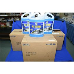 Fifteen 3.78 ltr. jugs of Napa -40 All Season windsheild washer fluid- AUCTION HOUSE WILL NOT PROVID