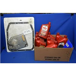 Napa transmission filter kit #15036, ten 946ml jugs of Valvoline Max Life DeX NERC automatic transmi