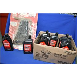 New Napa inventory transmission filter kit #1-9728 and nine 1 ltr. jugs of Motorcraft Mercon V autom
