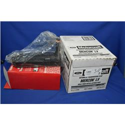 New Napa Inventory transmission filter kit 1-5502 and twelve 1ltr jugs of Mercon LV automatic transm
