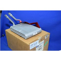 New Napa inventory heater core #93050 (retails $102.00) fits Chevrolet and GMC trucks, Cadillac Esca