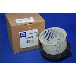 New Napa inventory heater motor #M79866 (retails $120.00) fits Chevrolet, GMC trucks, Cadillac Escal
