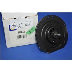 New Napa inventory heater motor #M892 (retails $72.00) fits Buick, Cadillac and Chevrolet cars, Chev