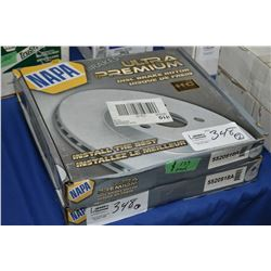 Pair of new Napa inventory disc brake rotors #5520918A (retails $139.00 each) fits Chrysler, Dodge m
