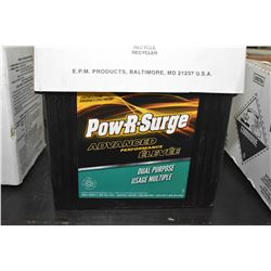 "Brand new Power-R-Surge ""Advance Performance"" 685CA DP24 battery- AUCTION HOUSE WILL NOT PROVIDE SHI"