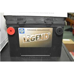 "Brand new Napa ""The Legend"" 985CA #DT34/78-7 battery- AUCTION HOUSE WILL NOT PROVIDE SHIPPING FOR TH"