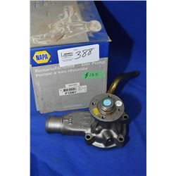 New Napa inventory water pump #58495 (retails $124.00) fits Ford 4.9ltr Bronco, E150, E250, E350, F1