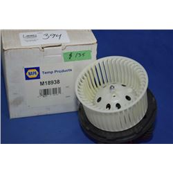 New Napa inventory blower motor #M18938 (retails $135.00) fits Chevrolet, GMC truck, Suburban, Tahoe