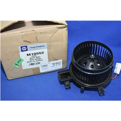 Napa inventory blower motor #M10552 (retails $142.00) fits Chrysler cars, minivan and Volkwagen Rout