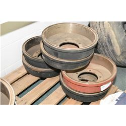 """Six 15"""" X 3"""" Napa brake drums part #3186 (retails $249.00 each)- AUCTION HOUSE WILL NOT PROVIDE SHIP"""