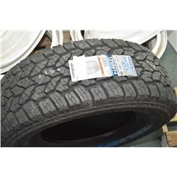 Brand new Trailcutter All terrain AT2 M+S tire, size Lt265/70R17- AUCTION HOUSE WILL NOT PROVIDE SHI