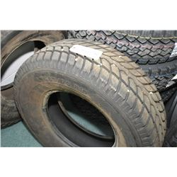 Maxmiler WT-1000 tire, LT265/75R16, appear slighty used- AUCTION HOUSE WILL NOT PROVIDE SHIPPING FOR