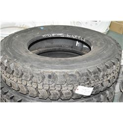 New Toyo Re-Cap M122 tire, #11R22.5- AUCTION HOUSE WILL NOT PROVIDE SHIPPING FOR THIS ITEM. BUYER MA