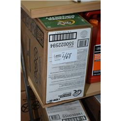 22.7 ltrs of Quakerstate Advanced Durability 10W-30 motor oil- AUCTION HOUSE WILL NOT PROVIDE SHIPPI