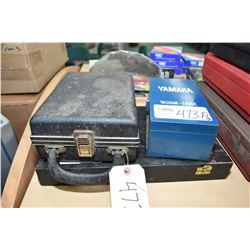 Yamaha vacuum gauge, Pioneer Photo-tac Model 36 and a Moore and Wright micrometer kit- ITEM CAN BE S