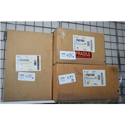 Three Donaldson filter elements including P532503, P607955 and P607965- ITEM CAN BE SHIPPED THROUGH