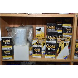 Large selection of Napa and Baldwin oil filters- ITEM CAN BE SHIPPED THROUGH CANADA POST BY THE AUCT