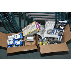 Selection of exhaust hardware, clamps and brackets- ITEM CAN BE SHIPPED THROUGH CANADA POST BY THE A