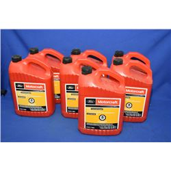 Seven 3.78ltr. jugs of Motorcraft gold concentrated anti-freeze/coolant CVC-7-B2- AUCTION HOUSE WILL