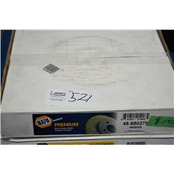 Napa disc brake rotor 48-880279 retails ($150.00) fits Chevrolet and GMC trucks, Tahoe, Yukon, Cadil