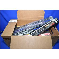 Large selection of wiper blades including Napa and other brands- ITEM CAN BE SHIPPED THROUGH CANADA