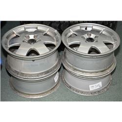 Set of used Volvo XC rims- AUCTION HOUSE WILL NOT PROVIDE SHIPPING FOR THIS ITEM. BUYER MAY ARRANGE