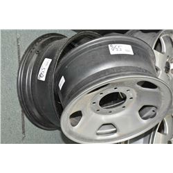 Pair of new eight stud rims part #8C34-1015-AA- AUCTION HOUSE WILL NOT PROVIDE SHIPPING FOR THIS ITE