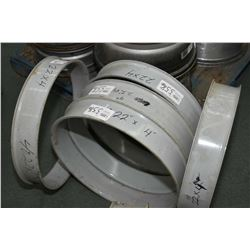 "Five 22"" X 4"" spacers, part #SB4022K- AUCTION HOUSE WILL NOT PROVIDE SHIPPING FOR THIS ITEM. BUYER M"