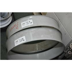 "Two 22"" X 4.5"" spacers, part #SB4422- AUCTION HOUSE WILL NOT PROVIDE SHIPPING FOR THIS ITEM. BUYER M"