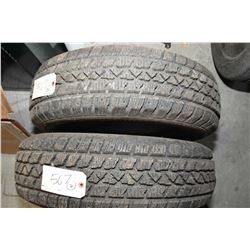 Pair of brand new Artic Claw winter tXi tire 225/70R15- AUCTION HOUSE WILL NOT PROVIDE SHIPPING FOR