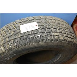Toyo G-02 plus Open Country tire 265/75R16, may have been slightly used- AUCTION HOUSE WILL NOT PROV