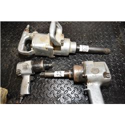"""Three Ultrapro pneumatic impact wrenches including 1/2"""", 3/4"""" and 1"""""""