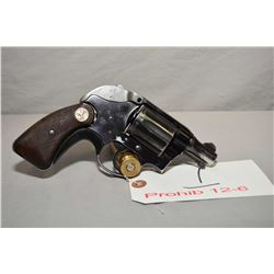 Colt Model Cobra .38 Spec Cal 6 Shot Revolver w/ 51 mm bbl [ blued finish worn and faded in some are
