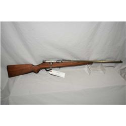 "Savage Model Sporter .22 LR Cal Mag Fed Bolt Action Rifle w/ 23"" bbl [ faint traces of blue faded to"