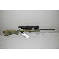 "Mossberg Model 353 .22 LR Cal Mag Fed Semi Auto Rifle w/ 18 1/4"" bbl [ blued finish starting to fade"