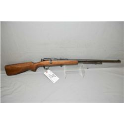 "Cooey Model 60 ( Repeater ) .22 Cal Tube Fed Bolt Action Rifle w/ 24"" bbl [ fading blue finish, with"