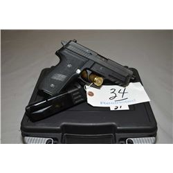 Sig Sauer Model P229R ( Extended ) .9 MM Luger Cal 10 Shot Semi Auto Pistol w/ 106 mm extended bbl [