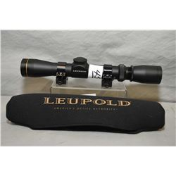 VX - 1 2 - 7 x 28 MM Rim Fire Variable Scope with quick off rings, with soft Leupold cover