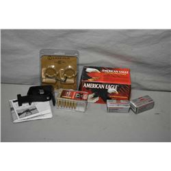 Box Lot : Approx. 9 & One Part Boxes American Eagle .22 LR Cal Ammo - approx. 1 Box Winchester Super