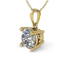 0.50 CTW VS/SI Diamond Designer Necklace 14K Yellow Gold - REF-82Y8N - 38405