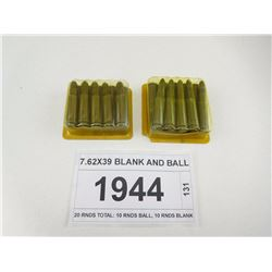 7.62X39 BLANK AND BALL