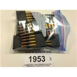 30-06 IN CLIPS OR BOX
