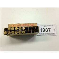 CAL. .300 CARTRIDGE BALL R.A.C.