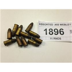 ASSORTED .455 WEBLEY