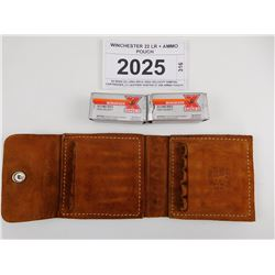 WINCHESTER 22 LR + AMMO POUCH