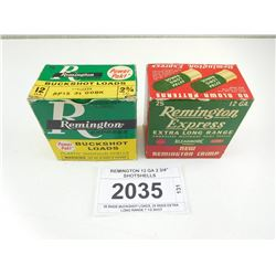 "REMINGTON 12 GA 2 3/4"" SHOTSHELLS"